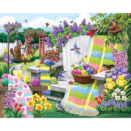 diy digital painting kit Australia - Flower landscape 5D DIY full diamond painting home decor round or square drill diamond embroidery cross stitch kits home decoration gift