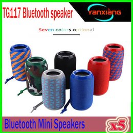 $enCountryForm.capitalKeyWord NZ - TG117 Bluetooth Outdoor Speaker Waterproof Portable Wireless Column Loudspeaker Box Support TF Card FM Radio Aux Input 5pcs ZY-YX-C