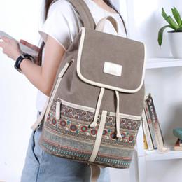 $enCountryForm.capitalKeyWord NZ - Canvasartisan Top Quality Canvas Women Backpack Casual College Bookbag Female Retro Stylish Daily Travel Laptop Backpacks Bag