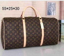 $enCountryForm.capitalKeyWord UK - Hot luxury 2019 brand men women NEO EOLE Horizon travel bag PU Leather duffle bag brand designer luggage handbags MICHAEL 00 KOR sports bag