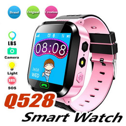 $enCountryForm.capitalKeyWord Australia - Q528 Kids Smart Watch Children Wrist Watch Waterproof Baby Watch With Remote Camera SIM Calls Gift For Child Boys And Girls