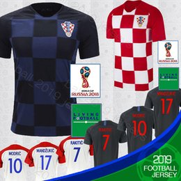 2018 World cup Designed for home Soccer Jersey MODRIC PERISIC MANDZUKIC  SRNA KOVACIC Red KALINIC Hrvatska menFootball Shirt jerseys 2d79dc414