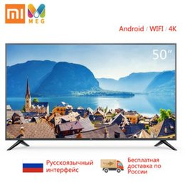 Xiaomi mi tv 4s 50 polegadas 4 k tela hdr tv set wi-fi de 2 GB + 8 GB ÁUDIO DOLBY Android Smart TV televisão venda por atacado