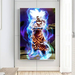 $enCountryForm.capitalKeyWord Australia - Dragon Ball Z Super HD Canvas Print Painting Anime Goku Modern Boys Room Wall Art Home Decoration Unframed