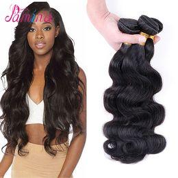 $enCountryForm.capitalKeyWord Australia - Pamina Hair Malaysian Hair Bundles 3 4 Bundles 8-30 inch Body Wave Deals Virgin Remy Body Wave 100% Human Hair Extensions