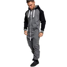 Chinese  Men Warm Fleece Onesie Fluffy Home Wear Adult One Piece Pants Male Hooded Jumpsuits manufacturers
