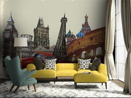 $enCountryForm.capitalKeyWord Australia - custom size 3d wallpaper photo wallpaper living room Eiffel Tower Vintage Car 3d picture sofa TV backdrop wallpaper non-woven wall sticker