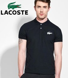$enCountryForm.capitalKeyWord UK - LACOSTE Poloshirt Solid Polo Shirt Men Luxury Polo Shirts Long Sleeve Men's Basic Top Cotton Polos For Boys Brand Designer Polo Homme