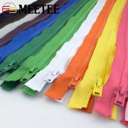 $enCountryForm.capitalKeyWord NZ - Meetee 5# 70CM Resin Open-end Zipper For Children Clothes Home Textile Bags Handmade Material Accessory Sewing Craft Bag Garment