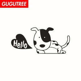 $enCountryForm.capitalKeyWord Australia - Decorate Home dogs cartoon art wall sticker decoration Decals mural painting Removable Decor Wallpaper G-1866