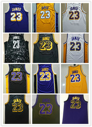 f458b9e04 L Lakers online shopping - Good Quality Men s Basketball Jersey Los Angels  Lakers LeBron James