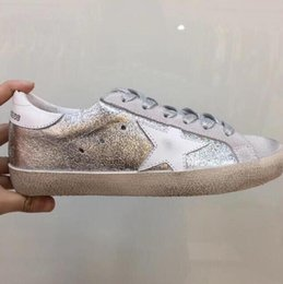 8f59ec196ee2e Golden Goose Sneakers Gold Australia - vdfg Golden Goose Ggdb Genuine  Leather Villous Dermis discount comfortable