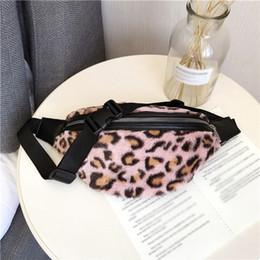 Leopard Bag Pack Australia - Women Waist Bag Fashion Leopard Print Zipper Plush Messenger Chest Bag sac banane femme heuptas dames fanny packs bolsa cintura