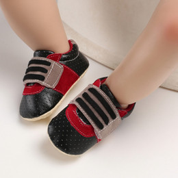 Wholesale Infant Shoes Cute Baby Boys Breathable Anti Slip Shoes Sneakers Soft Soled Walking First Walkers