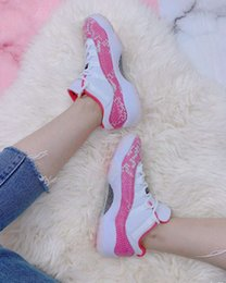 Carbon fiber basketball shoes online shopping - With Box Low WMNS Pink Snakeskin Basketball Shoes With Carbon Fiber Women White Watermelon Black Sneaker
