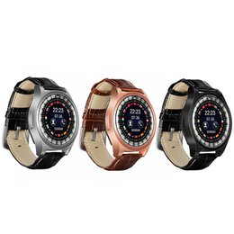 Wrist Watch Uses Sim Card Australia - R68 Smart Watch Leather Wrist Men Outdoor Sport Smartwatch Sleep Tracker Call Reminder Watches Support SIM Card TF Card For Android IOS