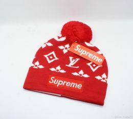 $enCountryForm.capitalKeyWord NZ - Cheap hot winter Beanie Knitted Hats All baseball football basketball beanies sports team Women Men popular fashion winter hat