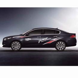 $enCountryForm.capitalKeyWord Australia - 2PCS Set Extreme Sports Car Decals Personality Modified Vinyl Body Sticker