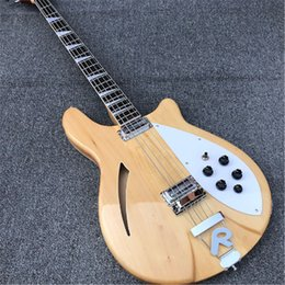 Clear eleCtriC guitar online shopping - High Quality strings Clear paint Electric BASS Guitar guitars