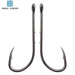 $enCountryForm.capitalKeyWord Australia - Fishing Fishhooks Easy Catch 100pcs 92247 Fishing Hooks Black Offset Long Barbed Shank Baitholder Bait for ice carp fish Hook Size4# - 6 0