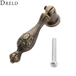 Cabinet Knob Pull Handle Australia - urniture Hardware Cabinet Pulls DRELD 60*14mm Vintage Furniture Handles Handware Cabinet Knobs and Handles Cupboard Door Drawer Wardrobe ...