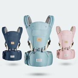 O Legs Belt Australia - Baby Carrier Ergonomic Backpack Hipseat For Newborn Prevent O-type Legs Sling Wrap Travel Portable Multifunction Kangaroos Belts Y190522