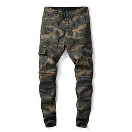 $enCountryForm.capitalKeyWord UK - 2019 New Pants Men Camouflage Military quality Cotton Spring Autumn Harem Pant Trousers Camo Male fashion personality pants