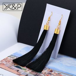 Big feather earrings online shopping - X P Fashion New Ethnic Tassel Drop Earrings for Women Girl Vintage Gold Long Big Feather Earring Jewelry Gift