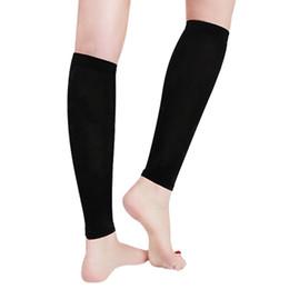 bcbc63416de92c Fancyteck 1 Pair Unisex Leg Calf Sleeves Men Women Varicose Vein  Circulation Compression Socks Medical Elastic Stockings