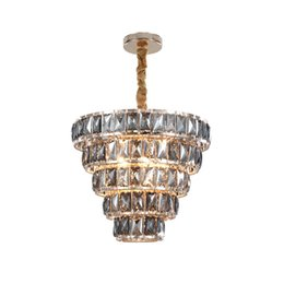 $enCountryForm.capitalKeyWord Australia - New design modern crystal chandelier lighting bedroom dining room pendant light European luxury crystal chandeliers lighting fixture