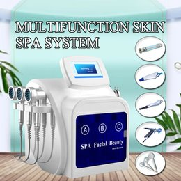 $enCountryForm.capitalKeyWord Australia - Portable Face Cleaning Vacuum RF Hydro Dermabrasion Peeling Machine Water Oxygen Jet O2 Peel Beauty Equipment For Home Use
