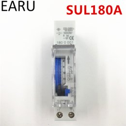 $enCountryForm.capitalKeyWord Australia - Free Shipping Sul180a 15 Minutes Programmable Din Rail Analog Mechanical Timer Switch Ac 220v Time Switch Relay Auto Control Hot T190620