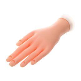 Flexible Nail Practice Hand UK - Hand Model Nail Art Practice Flexible Movable Soft