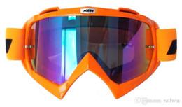 Toptan satış KTM Motosiklet Gözlüğü Motokros Gözlük MOTO ATV Gafas Yarışı Koruyucu