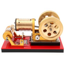 $enCountryForm.capitalKeyWord NZ - Suction Fire Type Professional Edition Pure Copper Air Cylinder Heat Energy Stirling Engine Model Toy for High-end Players