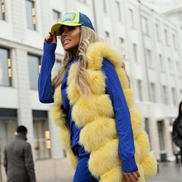 Jacket Shops Australia - 23 colors Women Real fox fur vogue vests genuine fur gilet jackets perfect shopping outfit abrigo mujer customzie plus size