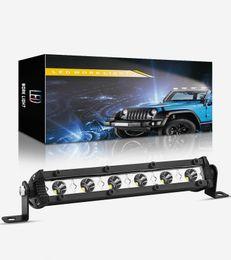 Winsun 1PC 6-Zoll-LED-Licht Bar Offroad Punkt-Arbeits-Licht 18W Barre führte Arbeitsleuchten Beams Autozubehör für LKW ATV 4x4 SUV 12V im Angebot