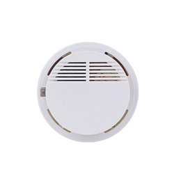 Smoke Detector Alarms UK - Smoke Detector Alarms System Sensor Fire Alarm Detached Wireless Detectors Home Security High Sensitivity Stable LED 85DB 9V Battery