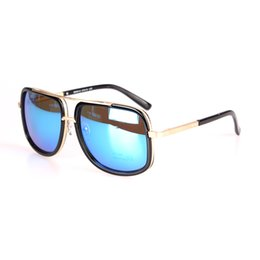 fb7f50c4bd6 Super Sunglasses Flat Top Australia - Square Sunglasses Men Luxury Brand  Design Couple Lady Celebrity Flat