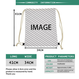 $enCountryForm.capitalKeyWord Australia - Customized Draw Strings Bag Backpack Package Any image is Available The only need is a picture I will do the design for you