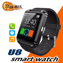 lost phones UK - Hot U8 Bluetooth Smart Watch Altimeter Anti-lost 1.5 inch Wrist Watch U Watch For Smart phones Samsung S8 Note 8 iP 8 X XS DHL