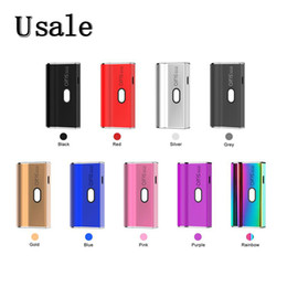 Airis Janus Box Mod 2in1 avec 650mAh Batterie 3 Tension pour Pod Cartidges Cartouches 510 fils 100% Original en Solde