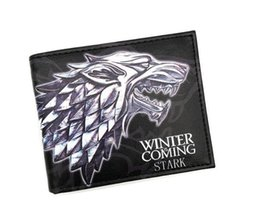 $enCountryForm.capitalKeyWord Australia - Ancient Costume Movies GAME OF THRONES Wallets Animated Wolf Wallets For Boys Girls Money Bag Cartoon Animal Purse Card Holders