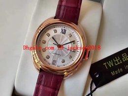 $enCountryForm.capitalKeyWord NZ - Luxury Watch T&W AAA Rose Gold 35mm 40mm Automatic Eta 2824 Watch DIAMOND Dial Woman 316 Steel Sapphire Leather Strap Lady Men Watches
