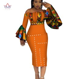 55b1d5b4d Traditional African Clothes Women Australia - 2019 Summer Dashiki Party Hot  Vestidos For Women Cotton Print