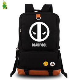 6a830e0fbc27 Deadpool Superhero Backpack Women Men Daily Laptop Backpack School Bags for Teenage  Girls Boys Large Travel Bags