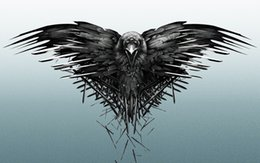 Discount game thrones wall - Game of Thrones Three-Eyed Raven Decor Art Silk Print Poster 24x36inch 24x43inch