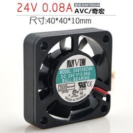 Computer Cabinet fans online shopping - AVC V A CM cm D4010S24H power supply CPU cabinet cooling fan