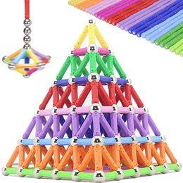 $enCountryForm.capitalKeyWord NZ - Cool Magnet Magnetic Building Blocks Toys Bars Balls Metal Construction Designer Educational Toddler Christmas Toys For Children MX190730