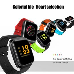 Vibrate phone online shopping - High quality Z40 Plus Smart Watch Blood Pressure Heart Rate Monitor Band Touch Screen Bracelet Vibrating Wristband Alarm Clock Smart Band